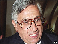 Bank of Italy governor Antonio Fazio