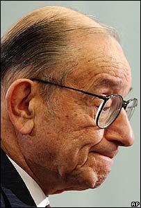 Alan Greenspan, jefe de la Reserva Federal de EE.UU.