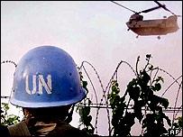 UN peacekeeper