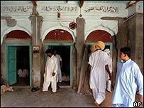 Mosque in Mong, near Mandi Bahauddin
