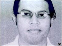 Noordin Mohamed Top, photo released by police 3 Nov, 2003,