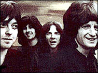 Badfinger: (L-R) Joey Molland, Tom Evans, Mike Gibbins, Pete Ham