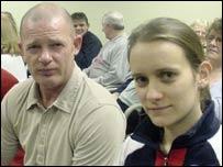 Jonathan Bennett and Rachel Jones