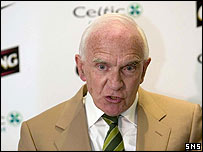 Celtic chairman Brian Quinn