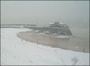 The beachfront in Broadstairs, Kent