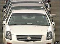 GM Cadillac models