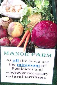 Manor Farm organic box