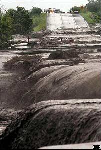 Inundaciones en Guatemala