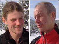 Marek Horecek (left) and David Amos