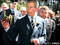 Prince Charles in Melbourne