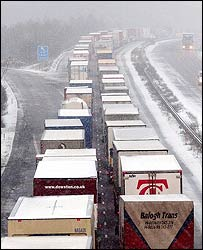 The M20 in Kent