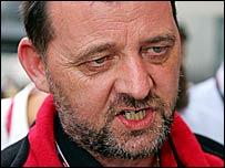 Minardi team boss, Australian Paul Stoddart