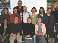 The Crossing Continents team