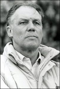 Rinus Michels, entrenador belga.