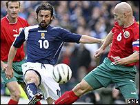 Scotland were lucky not to concede more goals at Hampden