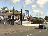 The girl was hit near a bar on Stewartsown Road