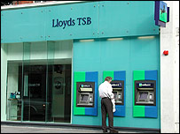 Lloyds bank exterior