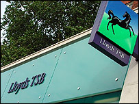 Lloyds bank signs