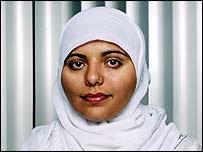 Oxfam aid worker Shaista Aziz