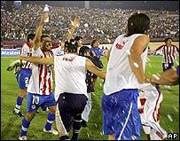 El partido se jugó en Maracaibo, Venezuela.