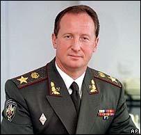 Former Ukrainian Interior Minister Yuri Kravchenko