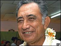 French Polynesia President Oscar Temaru