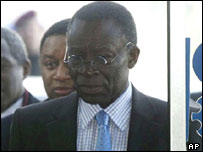 Nigerian Presidential advisor Edmund Daukoru