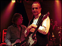 Rick Parfitt and Francis Rossi from Status Quo