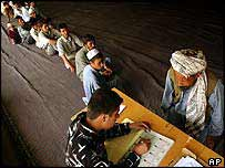 Afghan voters