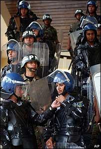 Fuerzas de seguridad hondureñas