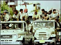 KDP forces enter Sulaymaniyah, 1996