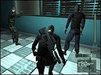 Screenshot from Splinter Cell: Pandora Tomorrow