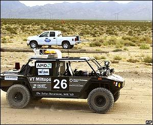 Team Cornell's Spider unmanned vehicle