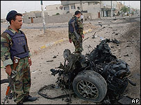 Iraq bomb aftermath