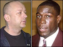 Boy George and Frank Bruno