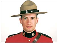 RCMP Constable Peter Schiemann