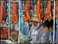 Duck vendors in Ho Chi Minh city, Vietnam