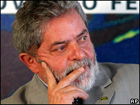 Luiz Inacio Lula da Silva, Brazilian President