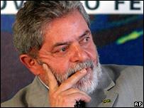 Luiz Inacio Lula da Silva, Brazilian President