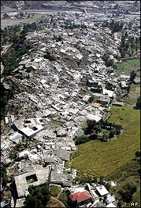Destruction in Balakot