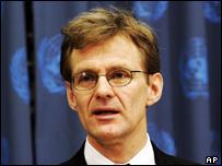 UN humanitarian chief Jan Egeland