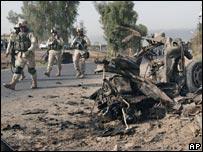 Suicide car bomb in Baghdad