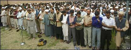Ceremonia en la Cachemira administrada por India