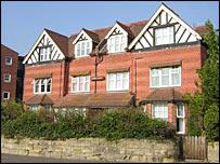 John Logie Baird's former home in Bexhill