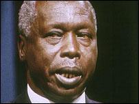 Daniel arap Moi (1991 picture)