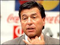 New Corinthians coach Daniel Passarella