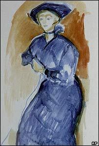 Edvard Munch's Blue Dress