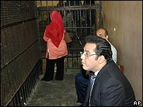 Ayman Nour in court
