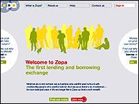 Zopa website