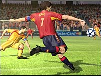 Screenshot of Fifa 06: Road to the World Cup